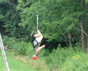 More Zip Line Fun