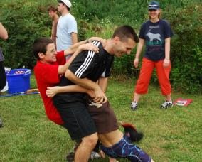 Wrestling Eric